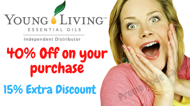 Young Living Promo Code - 40% Off w/2022 Coupon Code