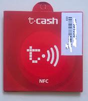 Bungkus NFC Telkomsel tampak depan