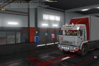 Kamaz 54-64-65 with Body + Dirt + Skins + Trailer