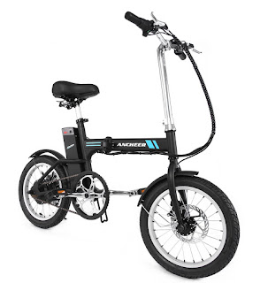 Electric folding mini ebike 2019