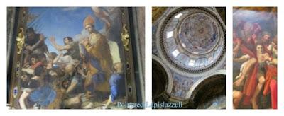 Diverse opere pittoriche che celebrano i vari miracoli del Santo Patrono