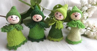 Zielone skrzaty