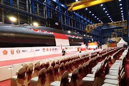 Persiapan Acara Peluncuran Kapal Selam Nomor Lambung 405 di PT PAL Indonesia