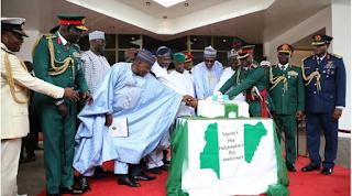 Buhari, Osinbajo,  Independence anniversary celebrations, Nigeria @59