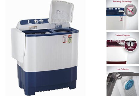 LG P6510NBAY Semiautomatic washing machine