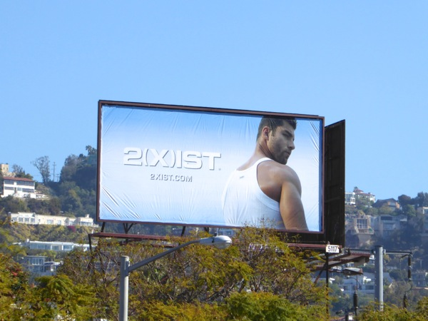 2Xist men's tank billboard