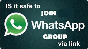 Is it safe to join WhatsApp group via Link