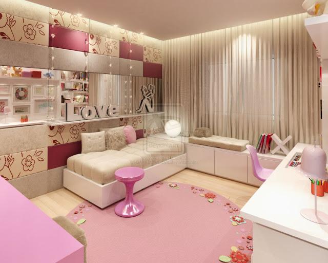 modern teenage girl bedroom design ideas