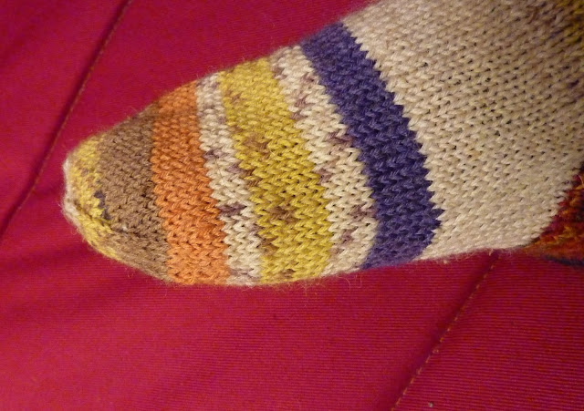 comment tricoter une chaussette