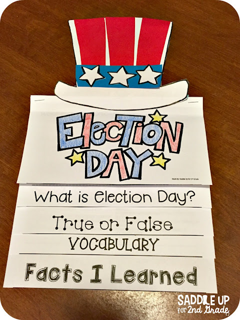 Election Day is the perfect time to teach your class all about voting. This mini unit features everything you need to hold a mock election in your classroom. It also features comprehension activities, vocabulary practice, writing prompts and so much more.