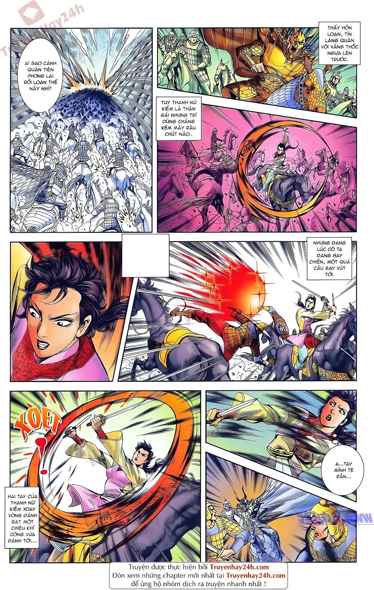 Tần Vương Doanh Chính chapter 48 trang 16