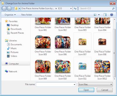 Cara Mengganti Icon Folder Dengan Gambar Menarik di Windows 7
