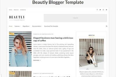 seo friendly template blog