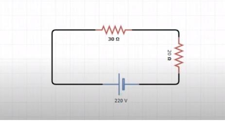 رسم الدائرة الكهربائية