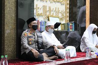 Polres Pelabuhan Makassar dan MCMI gelar Dzikir dan Doa Bersama dengan Prokes Ketat