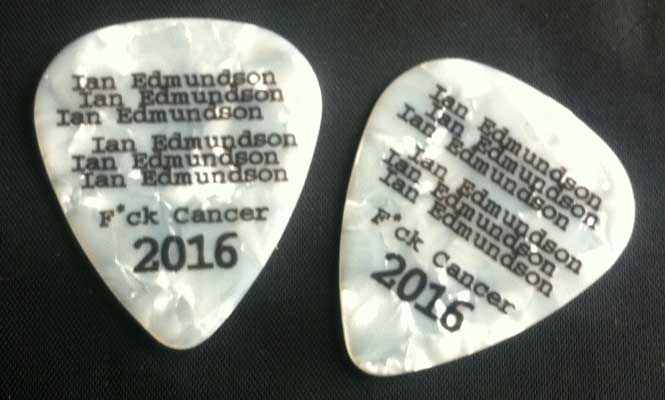 Ian Edmundson F*ck Cancer picks