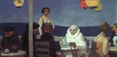 Edward Hopper - Sera Blu (1914)