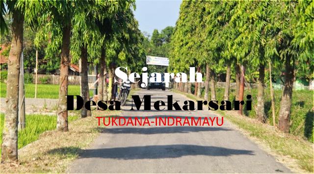 Sejarah Desa Mekarsari Kec Tukadana Kab Indramayu