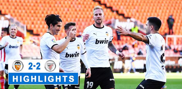 Valencia vs Athletic Club – Highlights