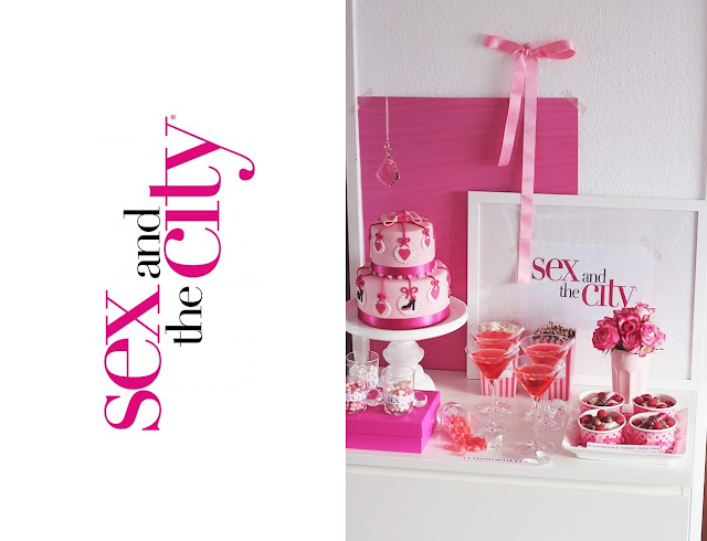 Sex and the City Sweet Table