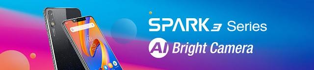 Tecno Spark 3 KB7 Pro google account reset.