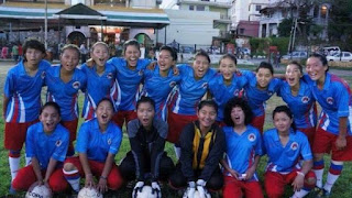 soccer, football, Tibet womens soccer team