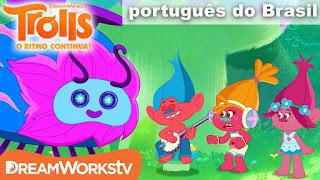 Trolls: O ritmo continua - J Suki e Poppy tentam atrair um Wooferbug