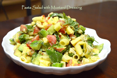 Pasta Salad with Mustard Dressing