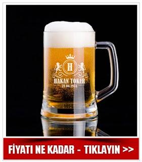 İsime Özel Bira Bardağı