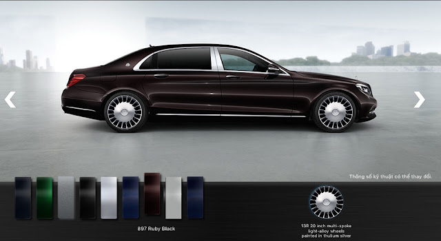 Mercedes Maybach S500 2017