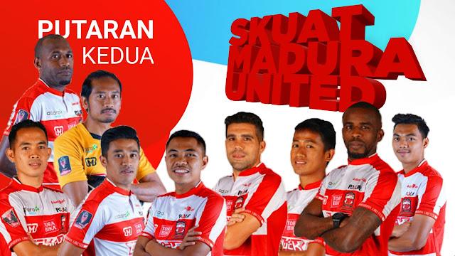 Gambar Nama pemain madura united putaran kedua liga 1 2018
