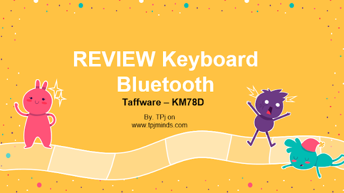 Review Keyboard Bluetooth taffware KM78D