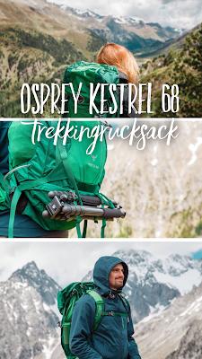 Gear of the Week #GOTW KW 29 | Osprey Kestrel 68 Trekkingrucksack | Rucksack zum Wandern