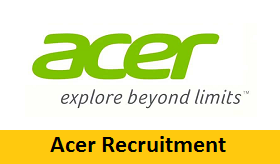 Acer Inc Recruitment 2017-2018