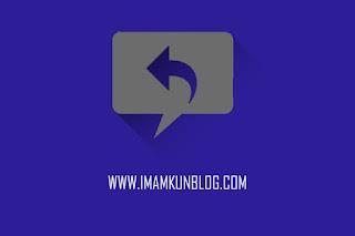 Cara Mengatasi Tidak Bisa Klik Tombol Reply Komentar Blog
