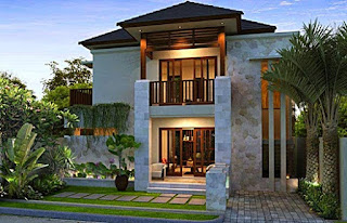 rumah mewah 2 lantai - rumah interior lampung