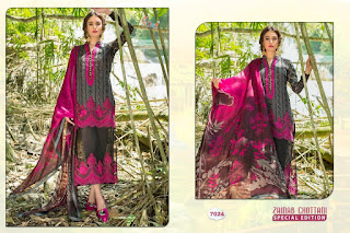 Shree Fab Zainab Chotani Special Edition Chikankari Pakistani Suits Collection