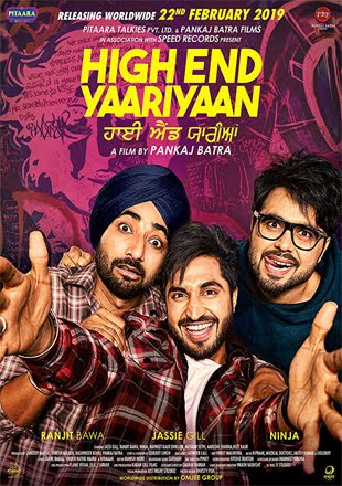 High End Yaariyaan 2019 Full Punjabi Movie Download 720p HDTV