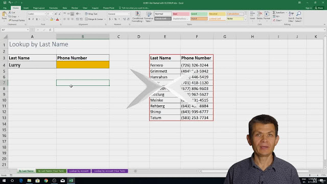 Master Excel Lookups and References
