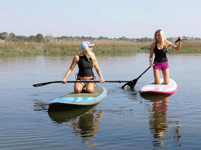 lululemon paddle-boarders
