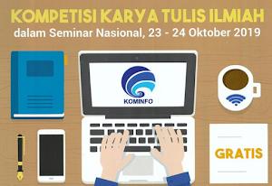 Kompetisi Karya Ilmiah Kominfo