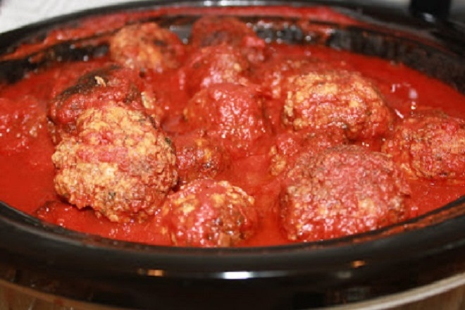 homemade Italian sauce