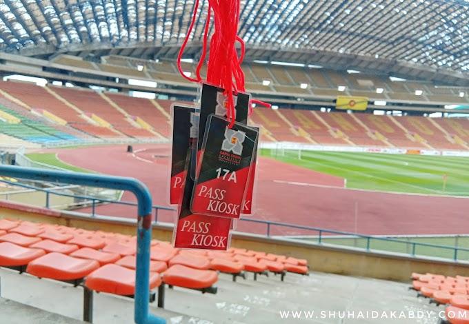 Rezeki di Stadium Shah Alam