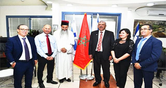 بعثة دبلوماسية مغربية تحل بالأراضي الإسرائيلية