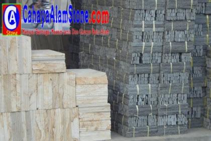 Harga Batu Alam Susun Sirih Terlengkap Januari 2021