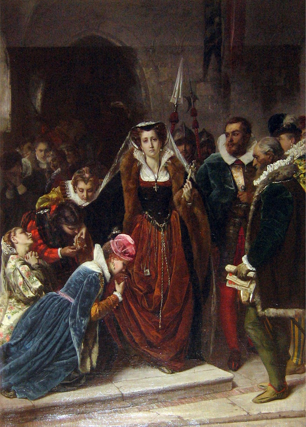 mary queen of scots and francis relationship questions
