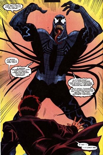 Un Venom Spiderman del futuro