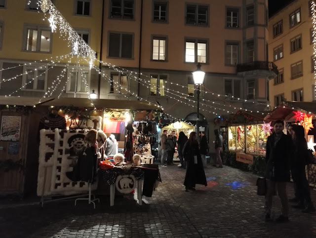 joulumarkkinat zürich joulutori glühwein glögi hehkuviini kojut
