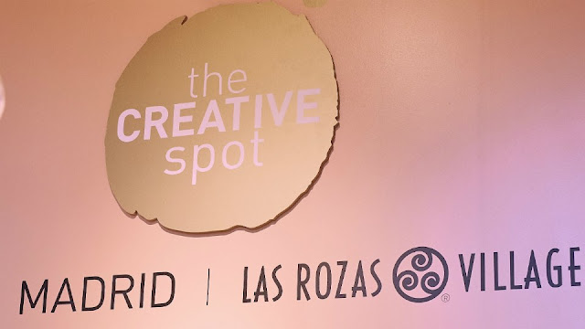 Logo de The Creative Spot y Las Rozas Village