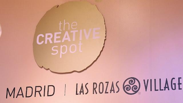 Logo de The Creative Spot y Las Rozas Village